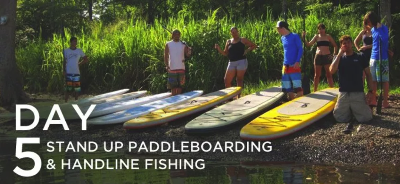 Day 5: Stand Up PaddleBoarding & Handline Fishing