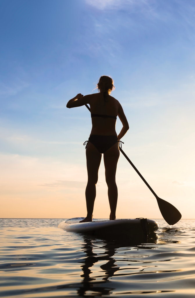 Costa Rica stand up paddle board