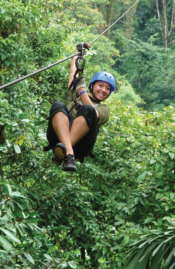 Costa Rica canopy zip lining